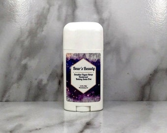 Lavender + Sage Sensitive Baking Soda-Free Hemp Natural Deodorant 2.5 oz // Balanced Deodorant | Natural Deodorant