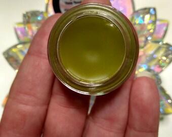 GREEN MOON Hemp Sleeping Beauty Balm, Organic Maracuja Oil Beauty Balm, Calming Tansy + Chamomile Essential Oils, Rosacea, Excess Oil, Acne