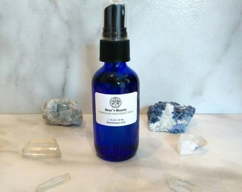 Lavender + Geranium Micellar Cleansing Water 2 oz, One Step Cleanser, Remove Makeup and Cleanse
