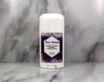 Lavender + Vanilla Sensitive Baking Soda-Free Hemp Natural Deodorant 2.5oz // Gentle Deodorant | Fresh Scent | Unisex Deodorant