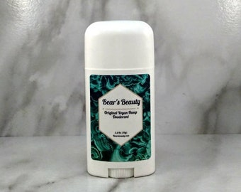 Original Vegan Hemp Natural Deodorant 2.5oz // Natural Deodorant | Teen Deodorant | Real Essential Oil Scents | Unisex Essential Oils