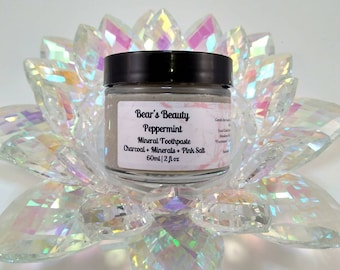 Peppermint + Silver + Sensitivity Relief Mineral Toothpaste, Coconut Free Mineral Toothpaste, Natural Toothpaste, Silver Toothpaste, BBB