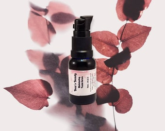 French Plum Booster 15 mL | .5oz | Glass Pump Bottle | Organic | Cold Pressed | Anti-Aging | Pigment Concerns | Fine Lines | Gift For Her