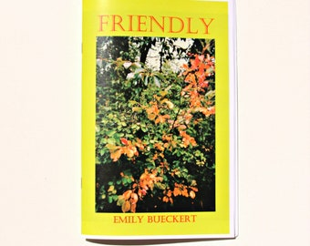 Friendly - Poetry and Photo Zine