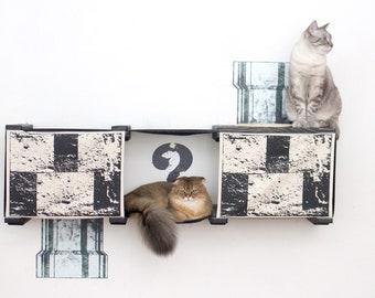 Unconventional Cat Furniture by CatastrophiCreations on Etsy