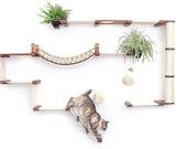 Juggernaut | Catastrophic Creations - Modern Cat Furniture - Cat Shelves - Cat Shelf - Cat Hammock - Cat Tower - Cat Bridge - Cat Tree