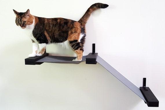 Tissu petit chemin chaise longue / hamac pour chats nous