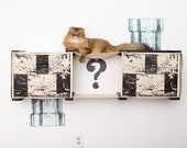Mario Condo- Cat Furniture Cat Hammock Cat Tower Cat Bridge Cat Gift Cat Play Cat Climbing Cat Scratching  Catastrophic Creations