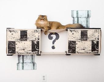 Mario Condo- Cat Furniture Cat Hammock Cat Tower Cat Bridge Cat Gift Cat Play Cat Climbing Cat Scratching| Catastrophic Creations