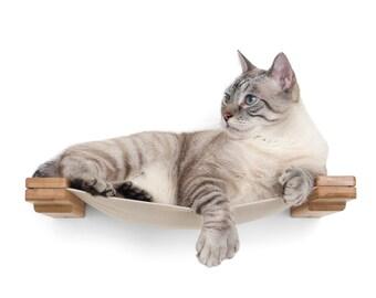 Cat Lounge 18in - Cat Shelves Cat Shelf Cat Furniture Cat Bed Cat Hammock Cat Bridge Cat Wall Play Cat Tree Cat Play  Catastrophic Creations