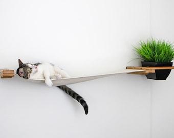 Cat Planter Lounge 41in- Cat Planter Cat Furniture Cat Shelves Cat Shelf Cat Hammock Cat Scratcher Tree Cat Play| Catastrophic Creations