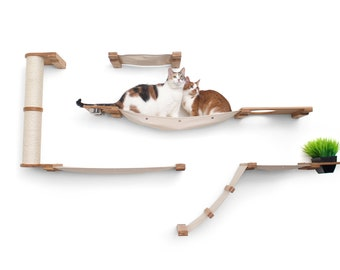 Cat Bunker- Cat Tree Cat Hammock Cat Shelves Cat Shelf  Cat Love Cat Gift Cat Tower Cat Eco Toy Cat Bridge| Catastrophic Creations