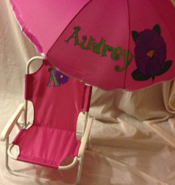 Outstanding Personalized Kids Beach Chair With Umbrella Customarchery Wood Chair Design Ideas Customarcherynet