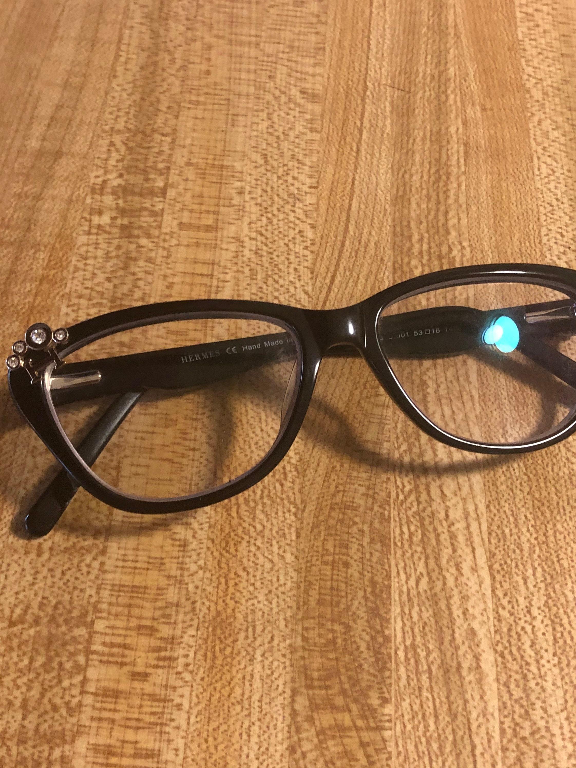 Marcos Hermes auténticos para gafas graduadas. Gran estado.