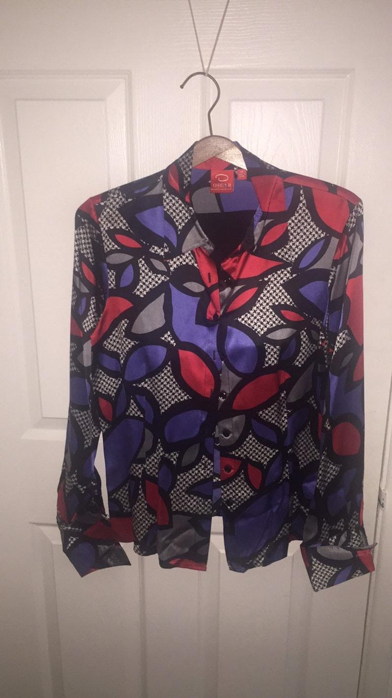 Oscar de la Remta blouse  size 10