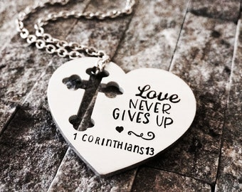 Religious Jewelry / Confirmation Gift / Religious Necklace / Graduation Gift / Gifts for Her / Cross Necklace