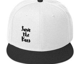 Save The Bees Snapback Hat