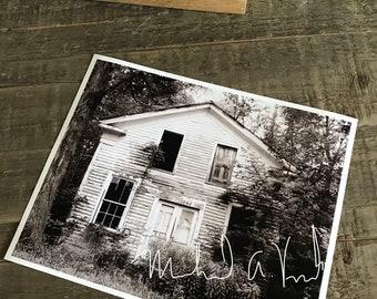 Abandoned Farm House  8 x 10 Print