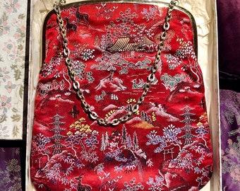 1950s MCM Asian M.Yamamoto & Co Hand Bag