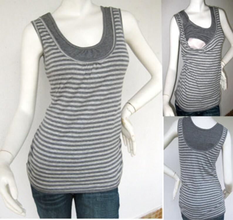 c9c71c6e7 ELLE Maternity Clothes/ Nursing Tops/ Breastfeeding Top/ NEW   Etsy