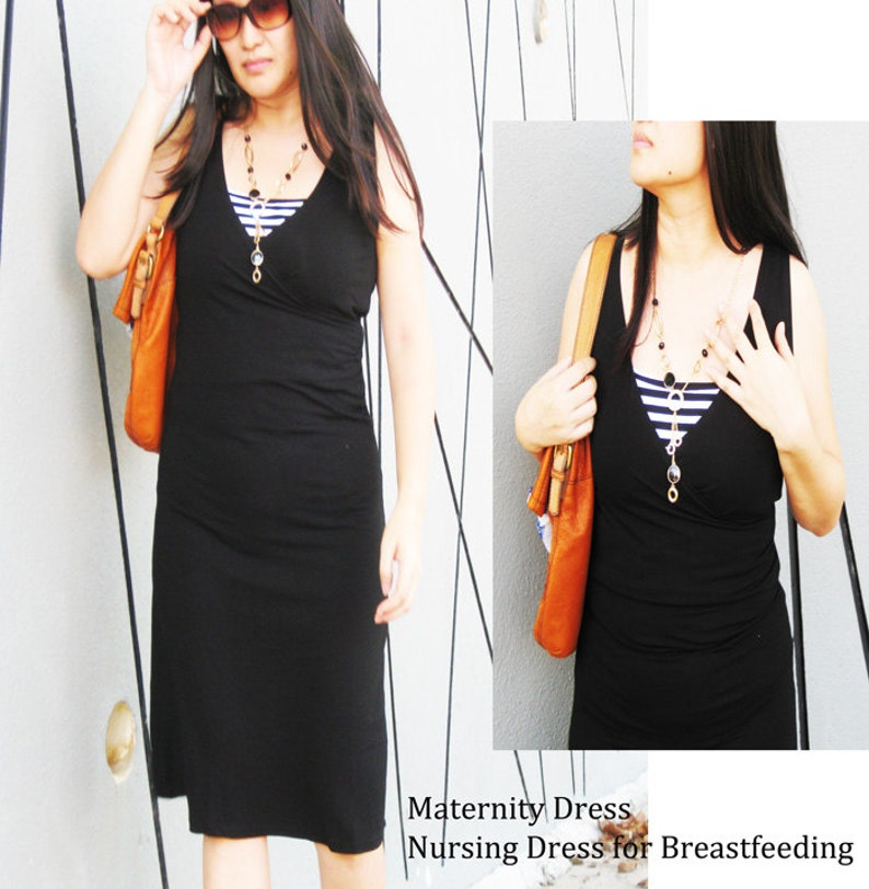 168821ffe794e1 DIANA Maternity Dresses   Nursing Dress   Breastfeeding Dress