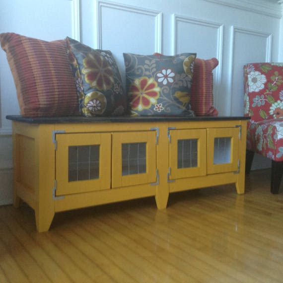 Fabulous Marigold Yellow Storage Bench Now On Sale Gmtry Best Dining Table And Chair Ideas Images Gmtryco