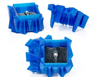 Edge Syfy Ring Box w/ Optional Ring Insert For One