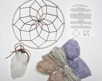 Pastel Skies DIY Dream Catcher Kit