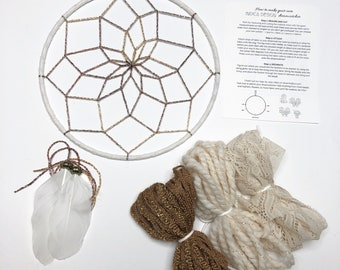 Natural Beauty DIY Dream Catcher Kit