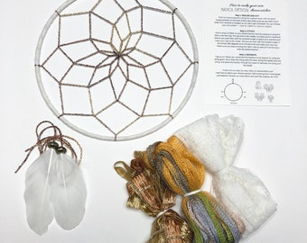 Tahiti Sunrise DIY Dream Catcher kit