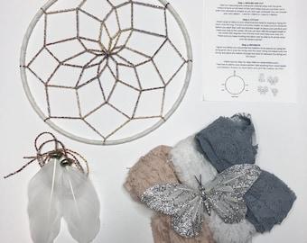 Butterfly Kisses DIY Dream Catcher Kit