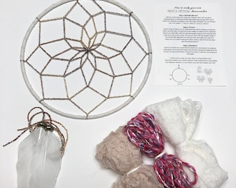 Roses DIY Dream Catcher Kit