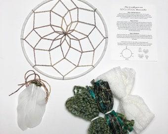 Green Goddess DIY Dream Catcher Kit