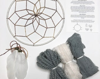 Dusty Blue DIY Dream Catcher Kit