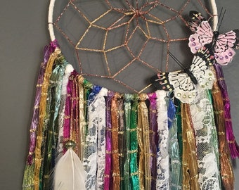 Butterflies of the Wind Dreamcatcher