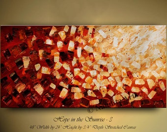 "Abstract painting, Large modern wall art, Modern art oil painting Abstract Art 48"" Large wall art decor Original Painting Luxury Art Nandita"