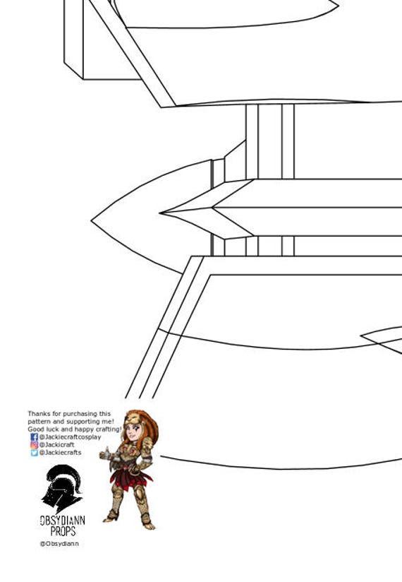Cruiser Dva Gun From Overwatch Foam Template