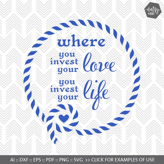 Love Life Quote SVG File Positive Quote Saying About Etsy Magnificent Life Quotes And Saying