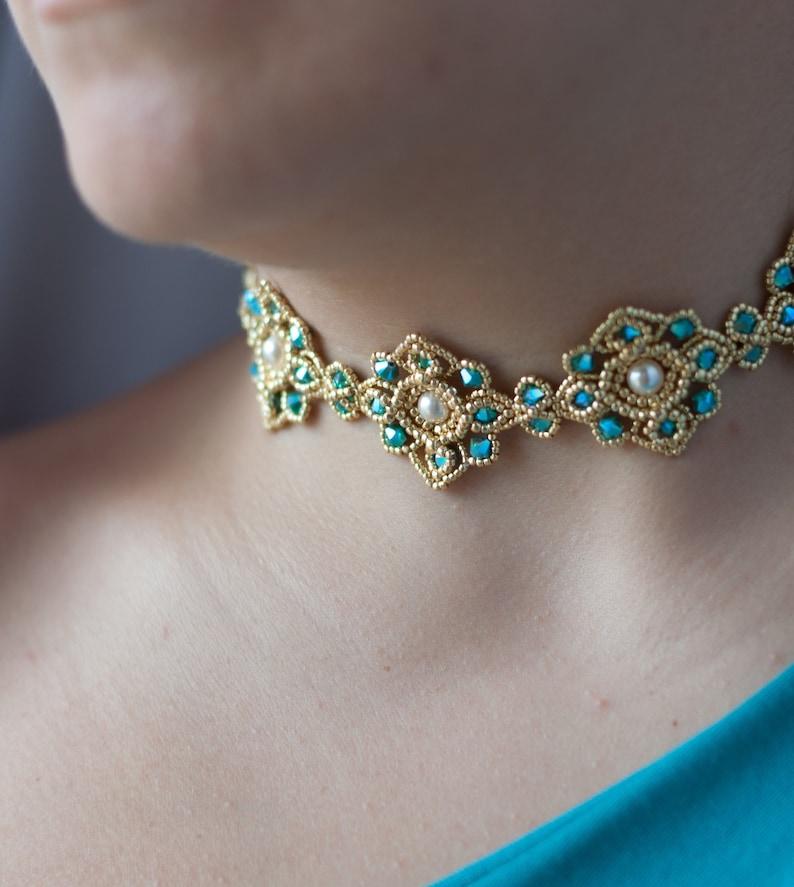 Swarovski choker Swarovski necklace 925 sterling silver  53ba39926