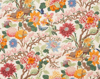 5,5 yards Lee Jofa Magnolia fabric (also available by the yard)