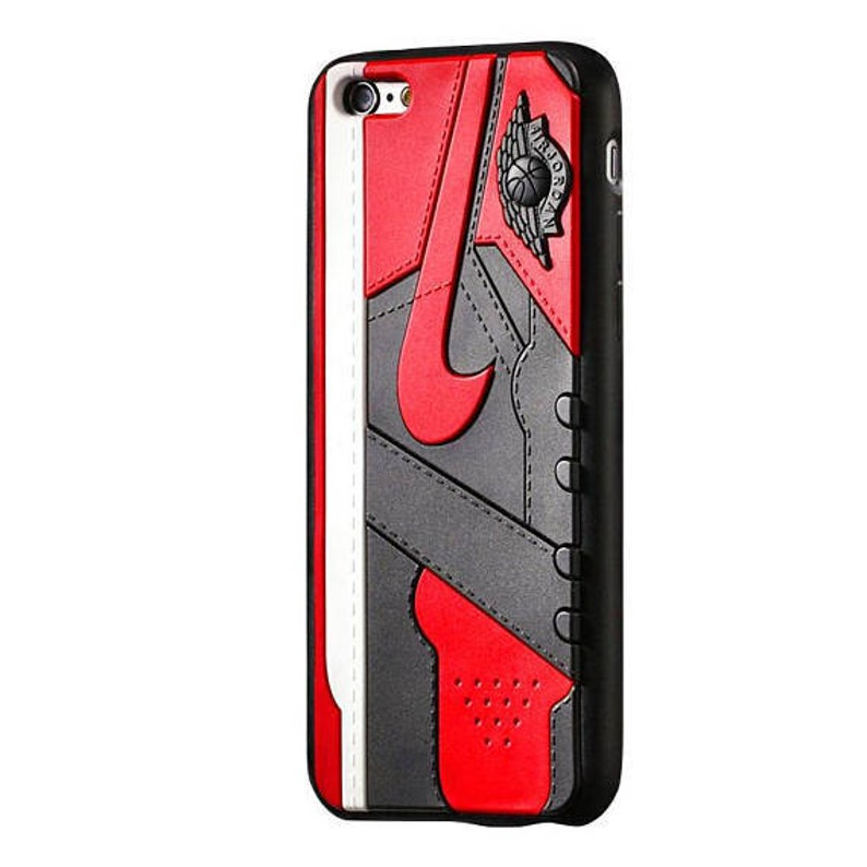 new products a36c7 1d03a Jordan 1 Off White Chicago 3D Rubber Protective Case for | Etsy