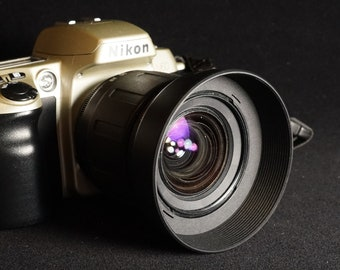 Nikon N60 Camera w/ Tamron Aspherical 28-80mm 3.5-5.6 Lens & Lens Hood