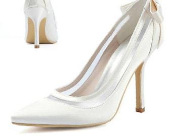 08dd9b7a4592 Ivory wedding shoes