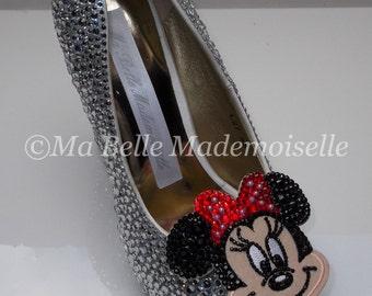 2847b839649 Minnie Mouse Rhinestone Shoes