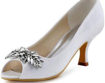 ivory wedding shoes  etsy