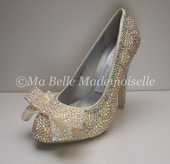 35602a965e15 Eternal Swarovski Crystal Bridal Shoe s Wedding Shoes