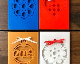 Ornament Gift Card Holder