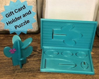 Puzzle Gift Card Holder