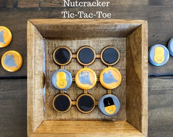 Nutcracker Tic-Tac-Toe