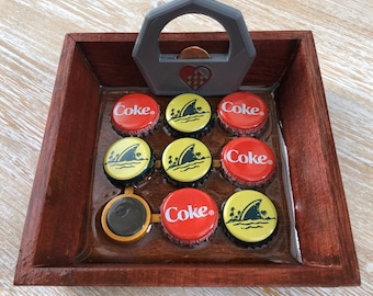 Bottle Cap Tic Tac Toe
